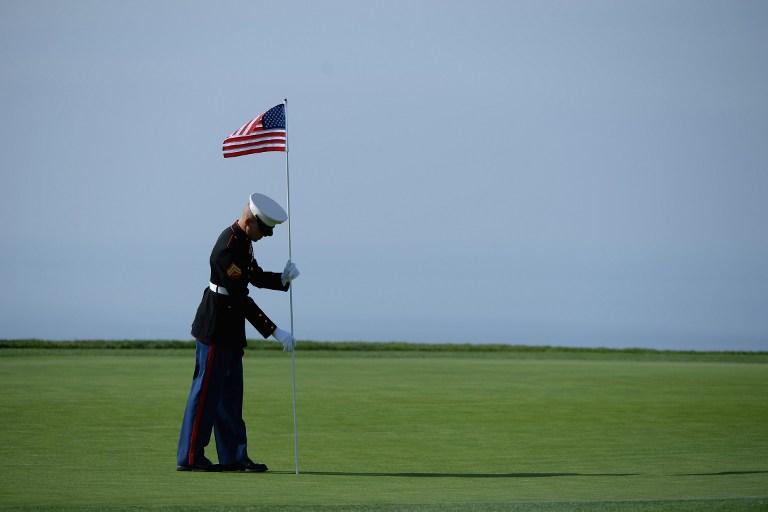 Американским военным запретили покупать флаги, произведённые в Китае