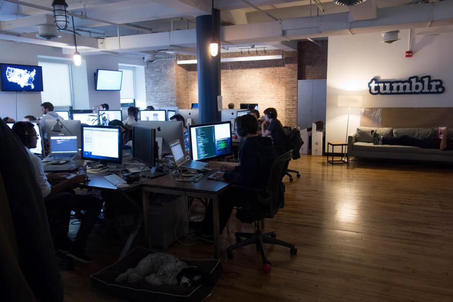 Yahoo собирается купить Tumblr за $1 млрд