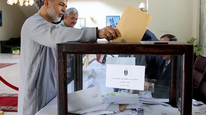 500 тысяч египтян досрочно проголосуют по новой Конституции