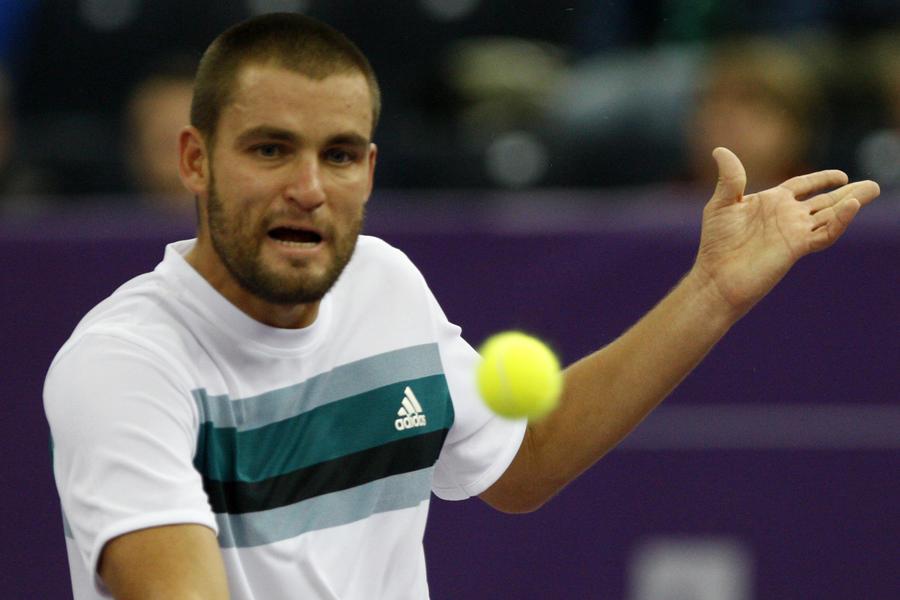 Михаил Южный уступил первой ракетке мира Новаку Джоковичу в 1/4 финала US Open