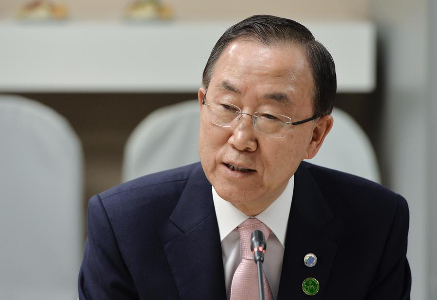 Пан Ги Мун: Положить конец конфликту в Сирии можно только политическими средствами