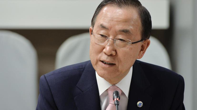 Генсек ООН рассчитывает на участие Ирана в конференции «Женева-2»