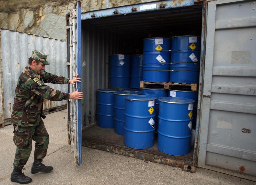СМИ: Великобритания поставляла в Сирию материалы для изготовления химического оружия