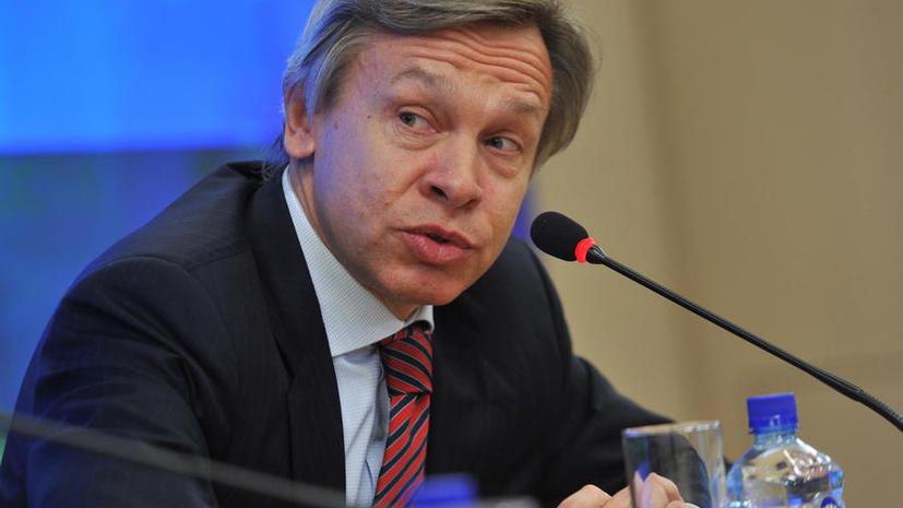 Алексей Пушков: Инициатор конфликтной ситуации с США не Россия