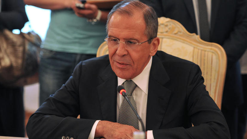 Сергей Лавров: властям и оппозиции Сирии надо объединиться, чтобы изгнать из страны террористов