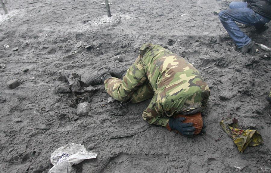 Медики: Погибший в центре Киева получил не огнестрельные, а травматические ранения
