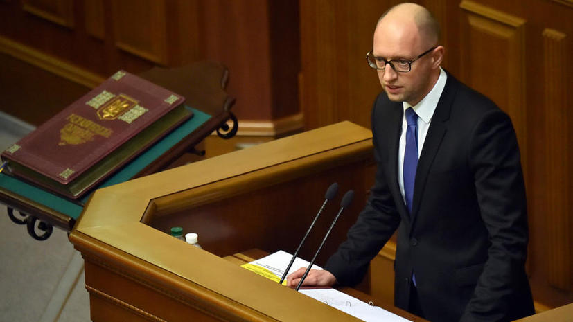 Арсений Яценюк надеется на подписание с Россией соглашения о поставках угля