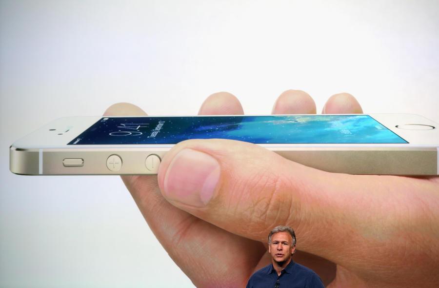 iPhone 5S получил сканер отпечатков пальцев