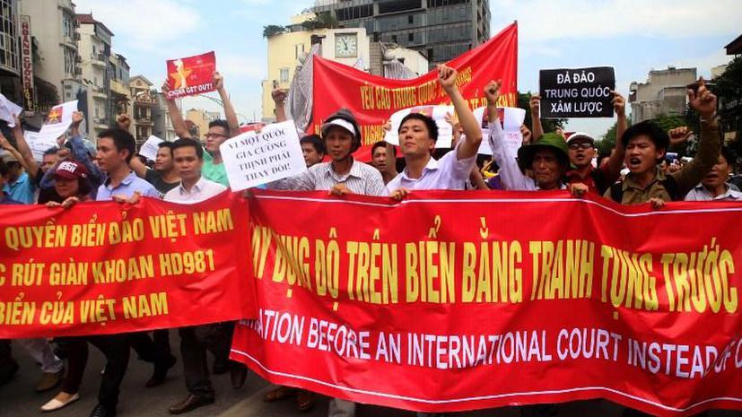 Во Вьетнаме задержаны более 600 участников антикитайских погромов