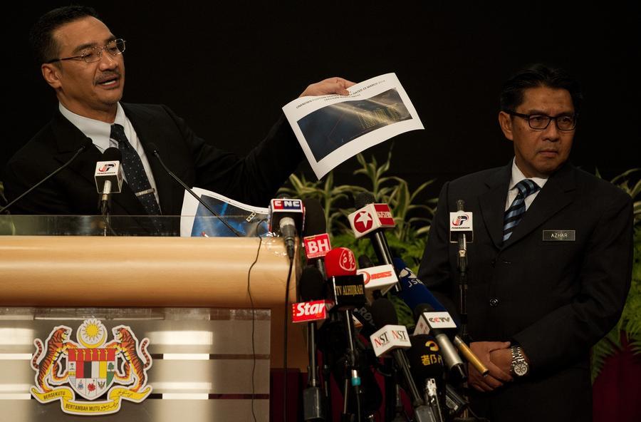 Французский спутник, возможно, обнаружил 122 фрагмента пропавшего малайзийского авиалайнера