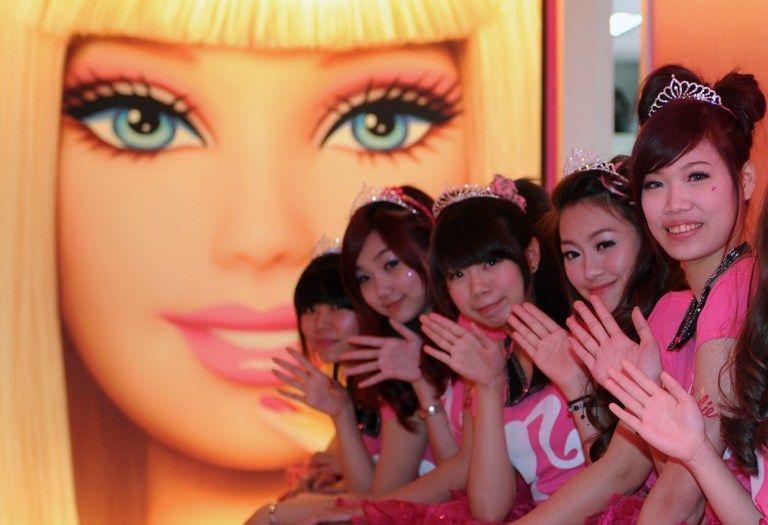 На Тайване открылся первый «Барби»-ресторан