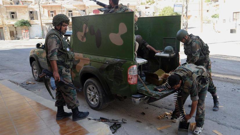 СМИ: Сирийские войска создают укрепления вокруг Дамаска