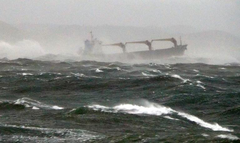 Два грузовых корабля столкнулись в Кильском канале