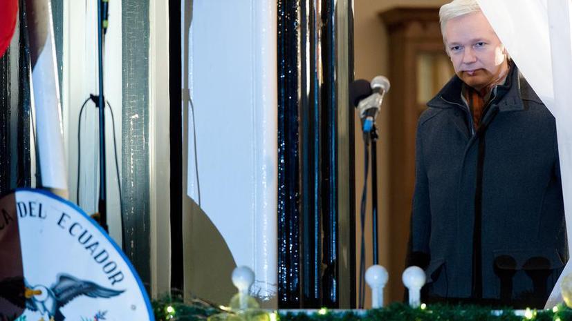 Отец Джулиана Ассанжа: условия в посольстве Эквадора довольно суровые