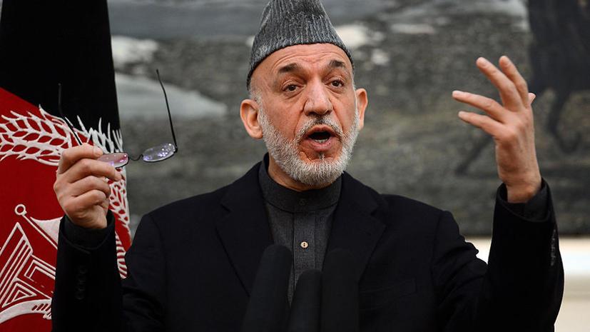 Главную угрозу Афганистану представляют иностранные государства, а не талибы – Карзай