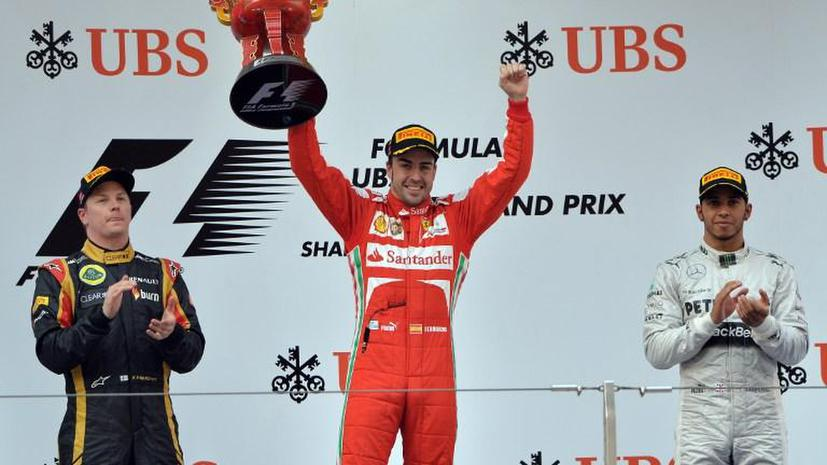 Фернандо Алонсо стал победителем Гран-при Китая