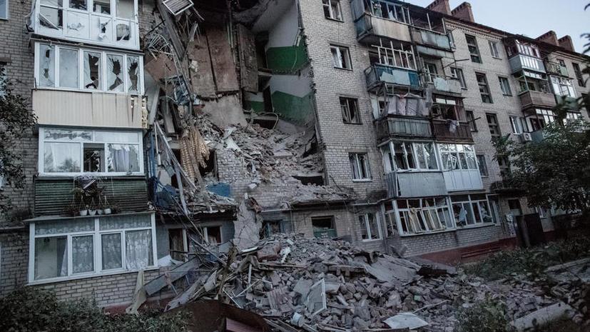 Артобстрелы гражданских объектов оставили ряд городов юго-востока Украины без воды и электричества