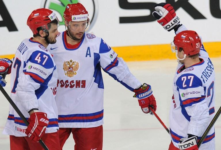 Российские хоккеисты завершили групповой этап Чемпионата мира победой