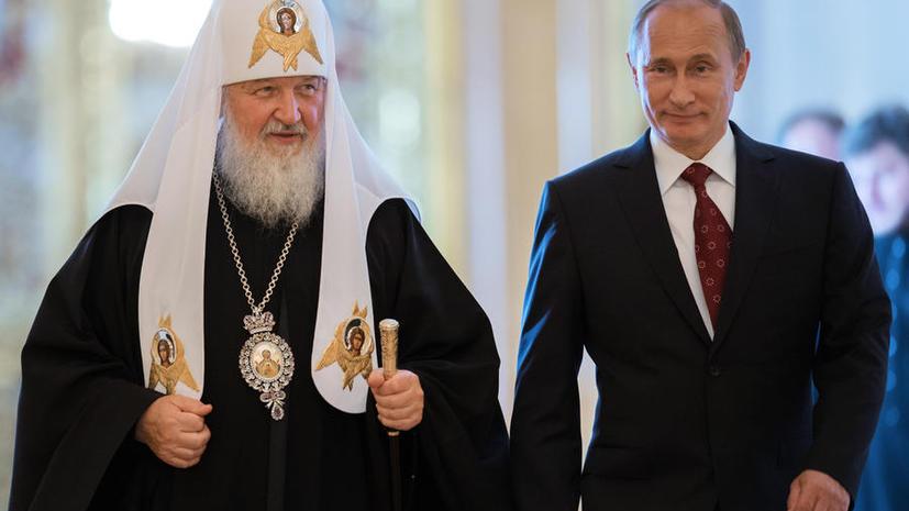 El Pais: Владимир Путин и патриарх Кирилл отправились на завоевание Украины
