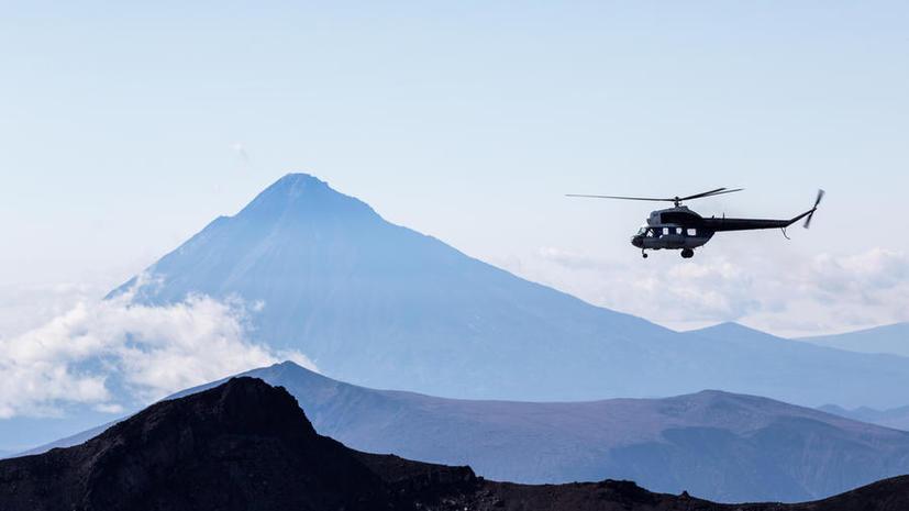 На Камчатке разбился вертолёт Ми-2