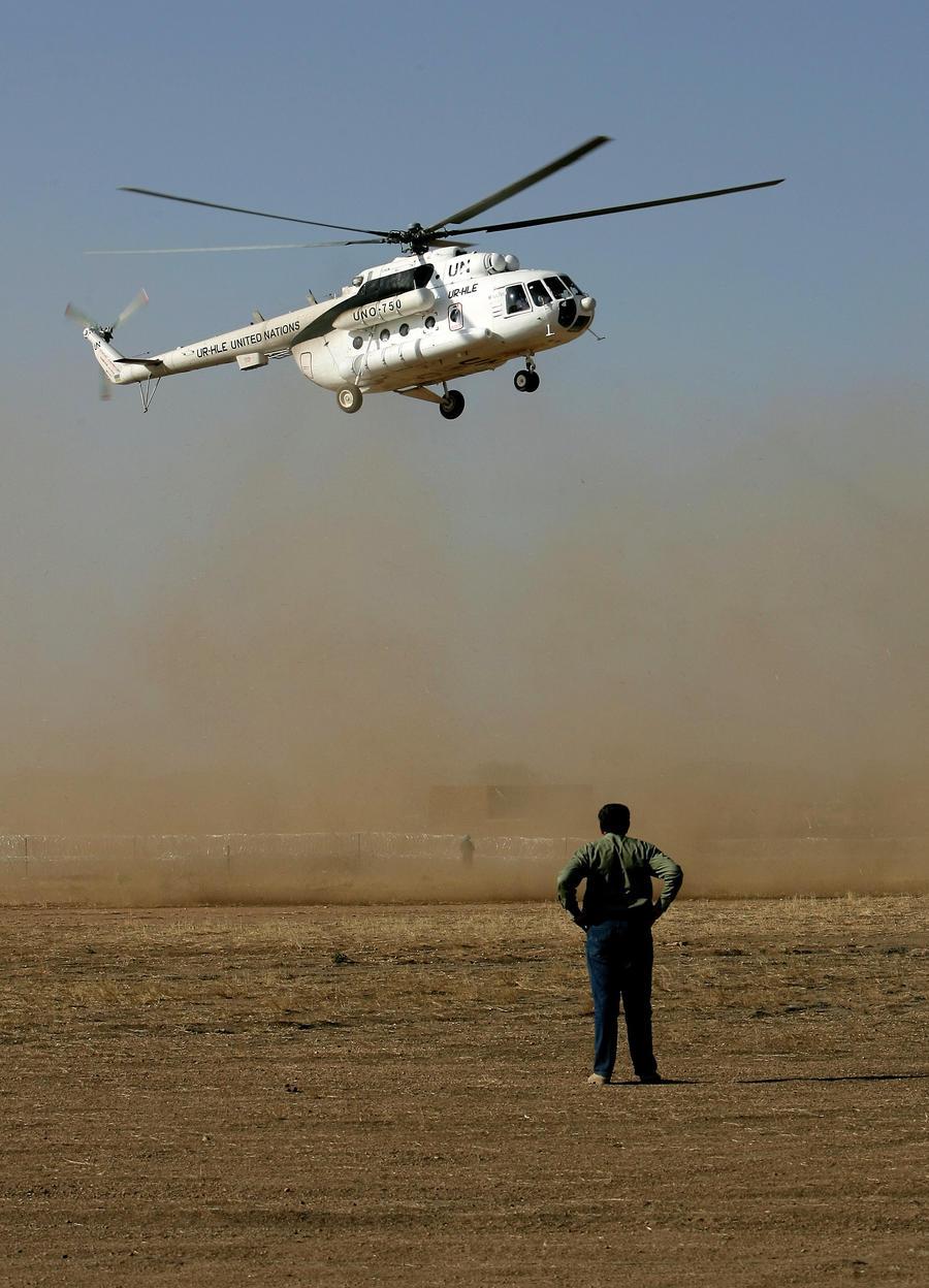 Трое российских пилотов погибли в Южном Судане в результате крушения вертолёта ООН