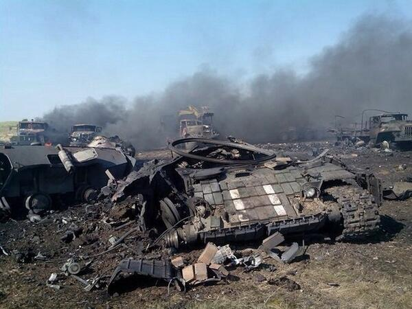 Украинские военные понесли серьёзные потери в боях в районе посёлка Зеленополье