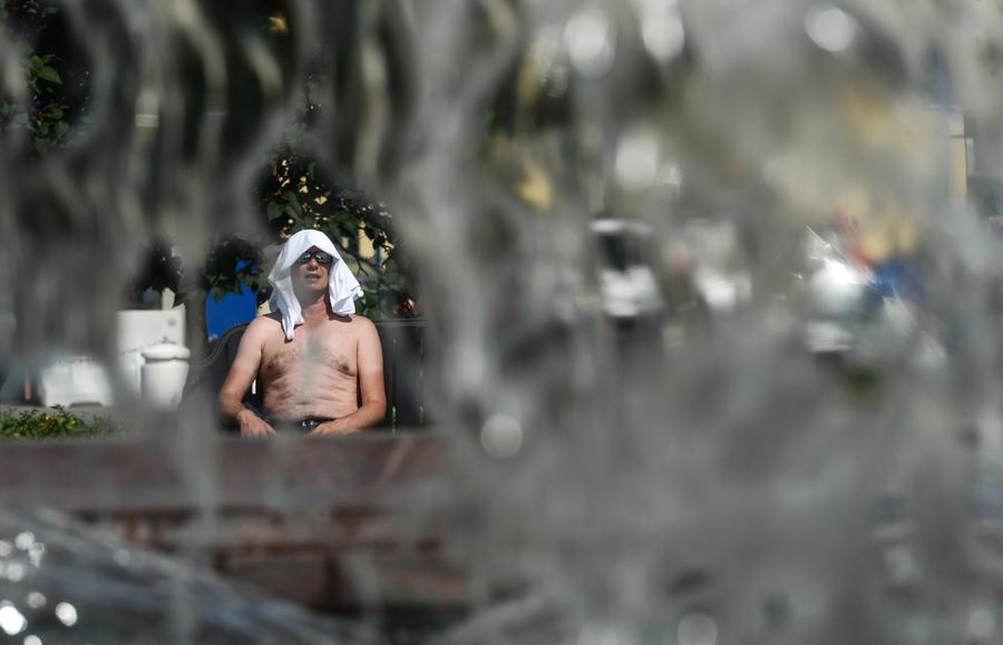 МЧС: Температура в Москве сегодня поднимется до + 33°С