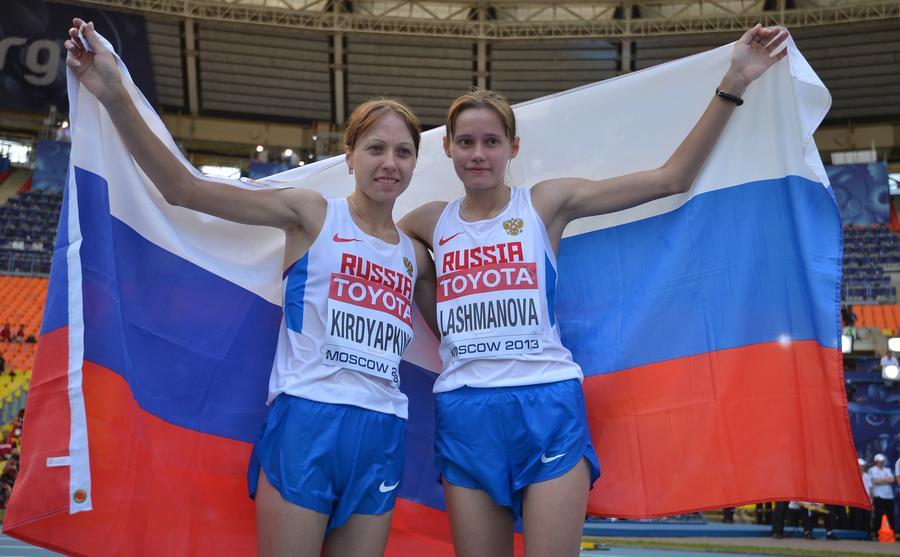 Две медали за один заход: Россия пополнила копилку наград на ЧМ по лёгкой атлетике