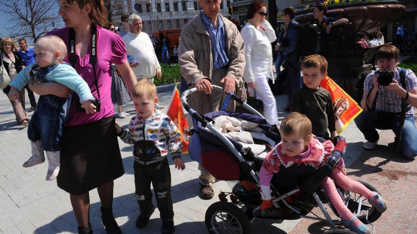 СМИ: В Госдуме предлагают снизить налоги для многодетных семей