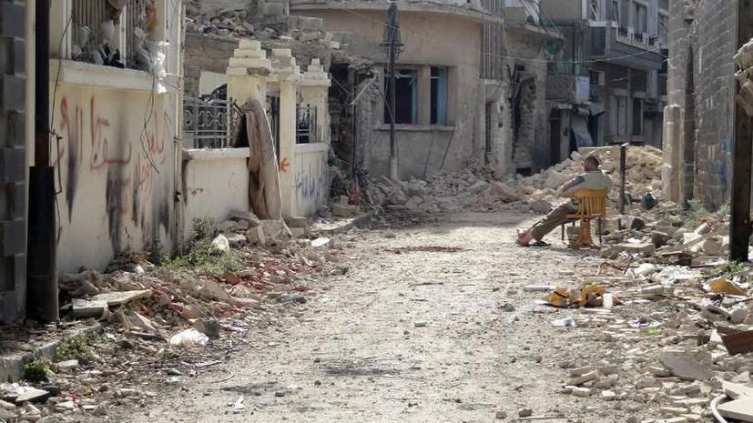 МИД РФ: В ходе перемирия Хомс покинут дети, женщины и раненые