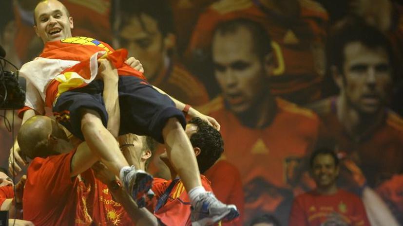 В Испании поставят памятник футболисту «Барселоны» Иньесте