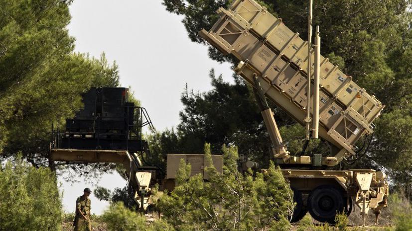 НАТО готовится разместить ракетные комплексы «Пэтриот» на турецко-сирийской границе