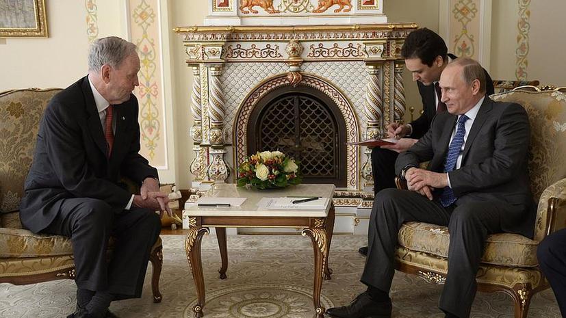 СМИ: Встречу Путина и бывшего премьера Канады Кретьена в Оттаве восприняли как пощёчину
