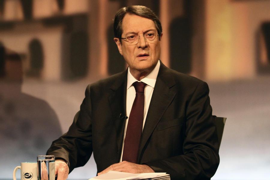 Президент Кипра поблагодарил Россию за поддержку в тяжёлой экономической ситуации