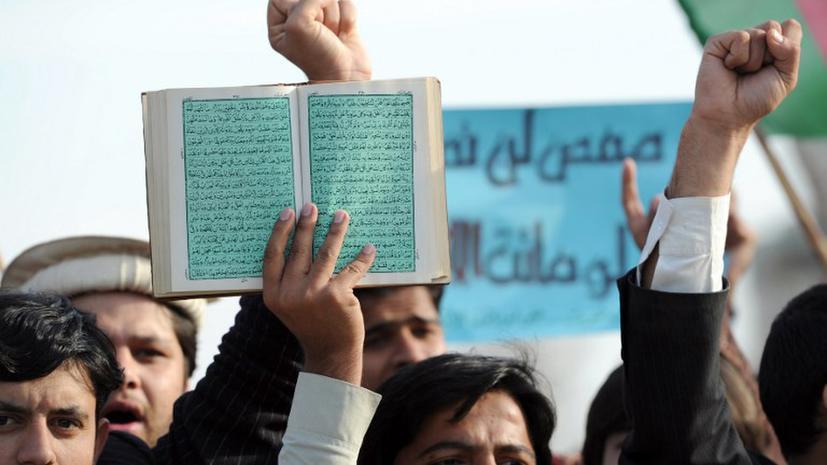 Мусульмане заживо сожгли пакистанца за осквернение Корана