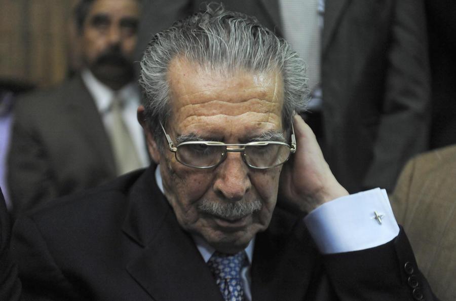 Бывший диктатор Гватемалы избежал 80 лет тюрьмы