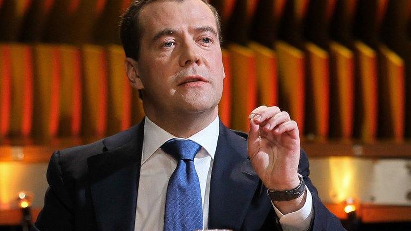 Дмитрий Медведев: Мы живем в космосе и оттуда могут приходить разные неожиданности