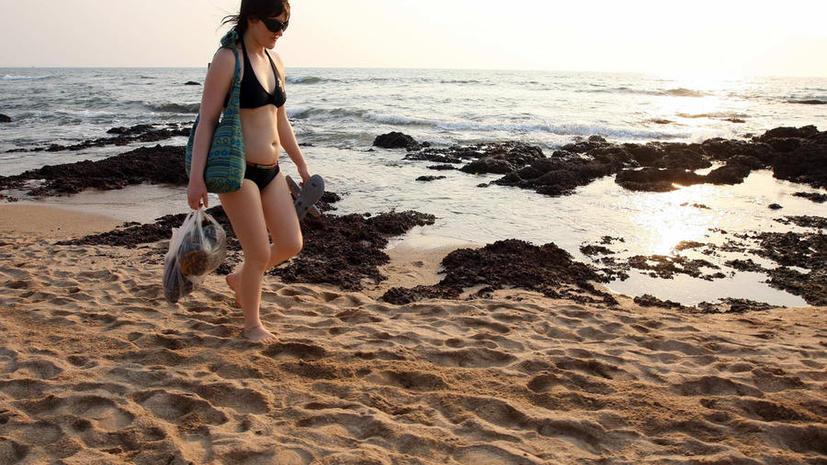 В Гоа туристам с оголённым торсом будут раздавать футболки
