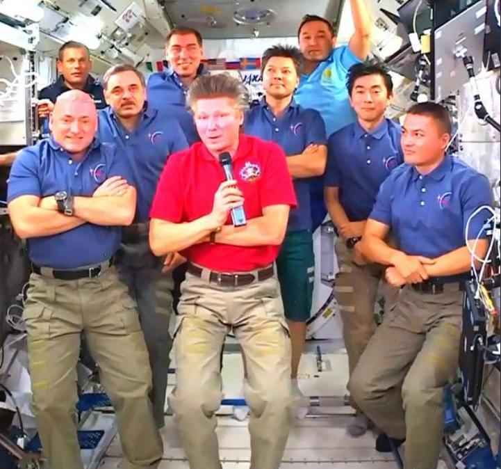 Экипаж МКС сегодня ответит на вопросы журналистов в прямом эфире