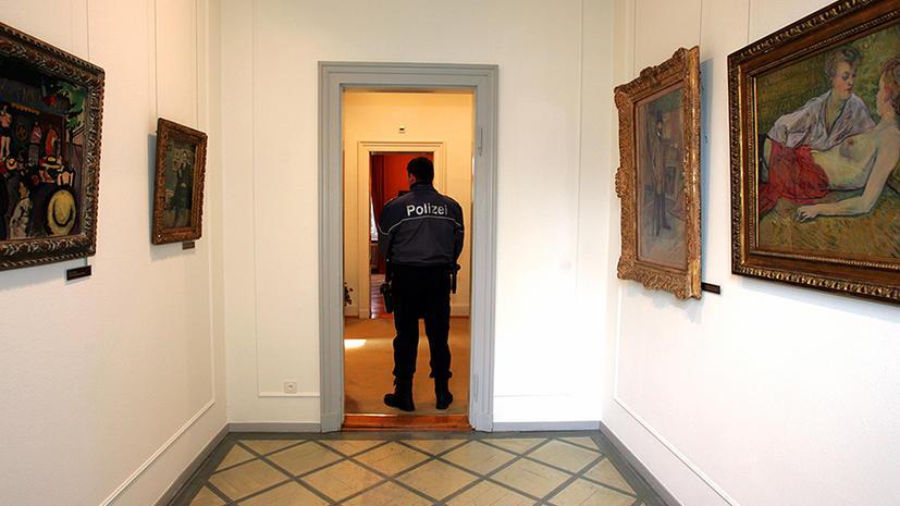 В Цюрихе пропали тысячи предметов искусства