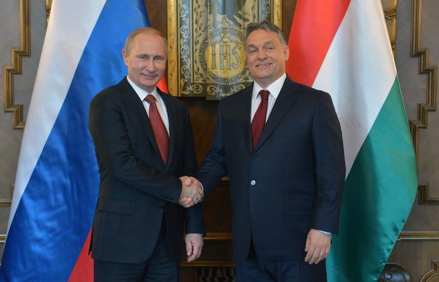Владимир Путин и премьер Венгрии Виктор Орбан обсудят в Москве совместные проекты в энергетике