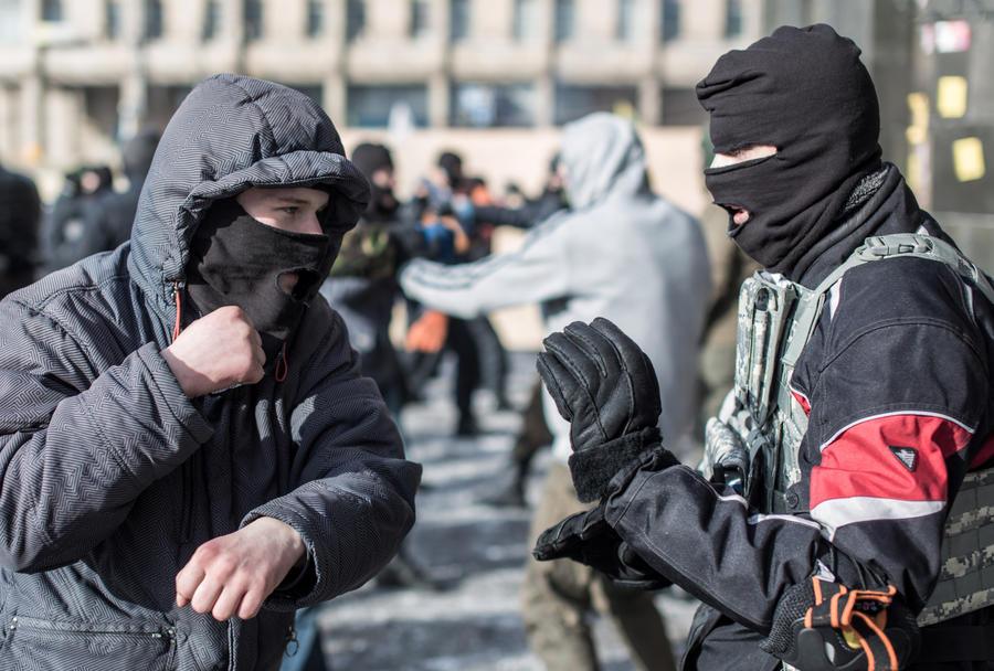 МИД России: Боевики «Правого сектора» терроризируют население Крыма