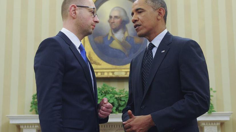 Эксперт: Перекрыть транзит газа через Украину Яценюк намерен под давлением США