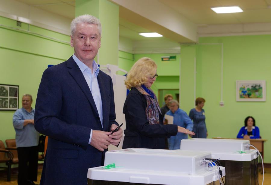 Сергей Собянин официально объявлен победителем выборов на пост мэра Москвы