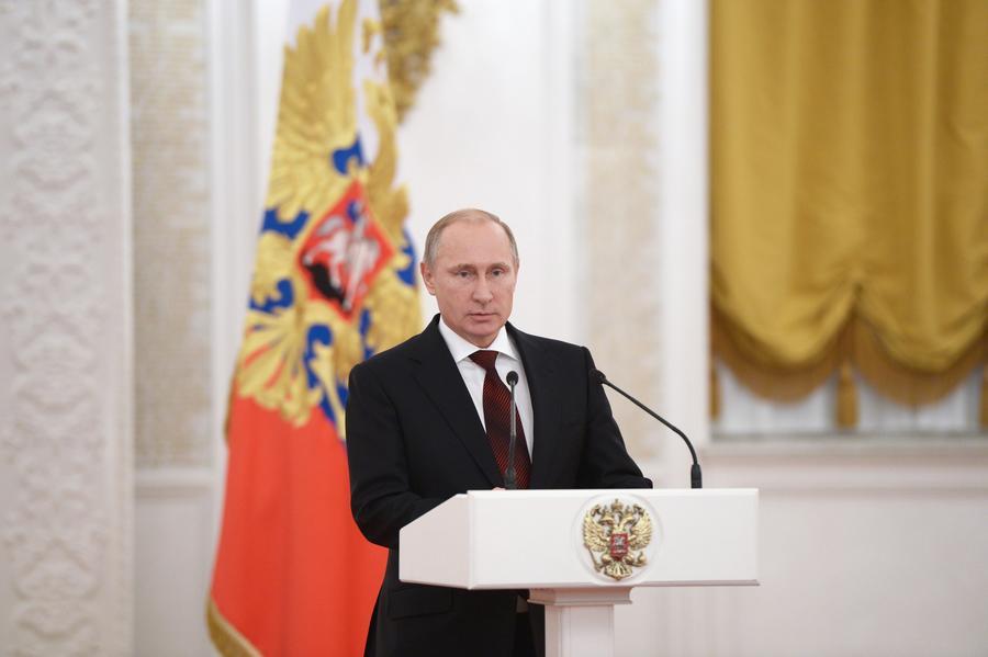 Владимир Путин: На Украине идёт гражданская война, а её армия, по сути, является легионом НАТО