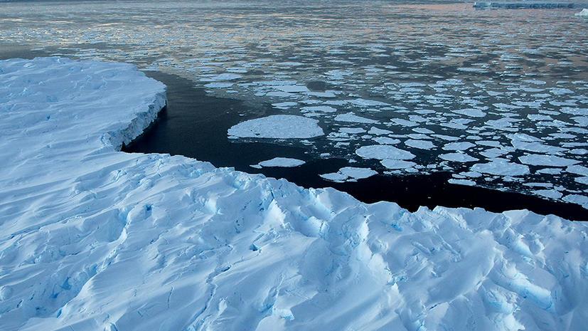 Лед западной Антарктики тает вдвое быстрее, чем полагали ученые
