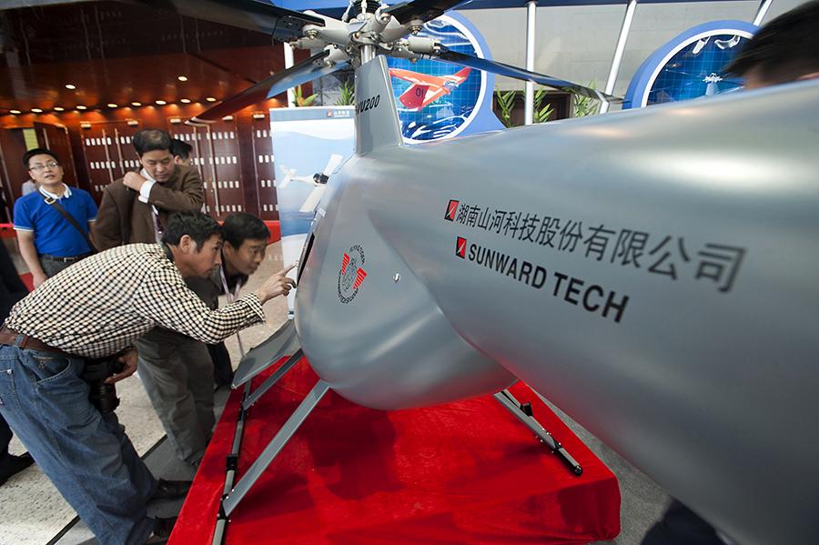Китай и Япония начинают гонку беспилотников