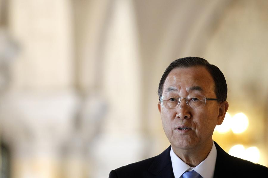 Пан Ги Мун: Сотрудники ООН останутся в Сирии несмотря ни на что