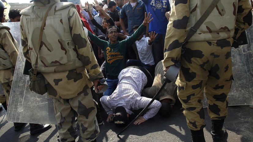 Сторонники «Братьев-мусульман» устроили побоище в центре Каира