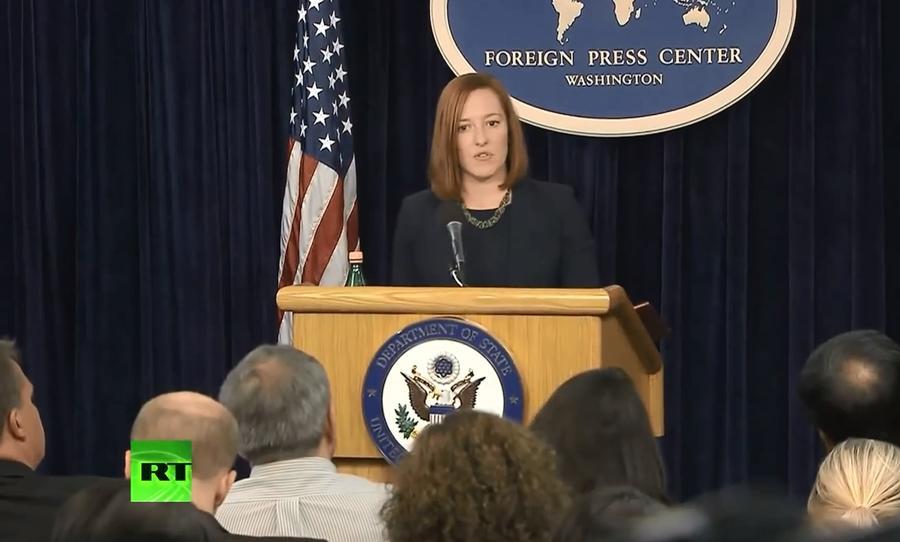 Джен Псаки: США могут расширить санкции против России из-за её сотрудничества с Ираном